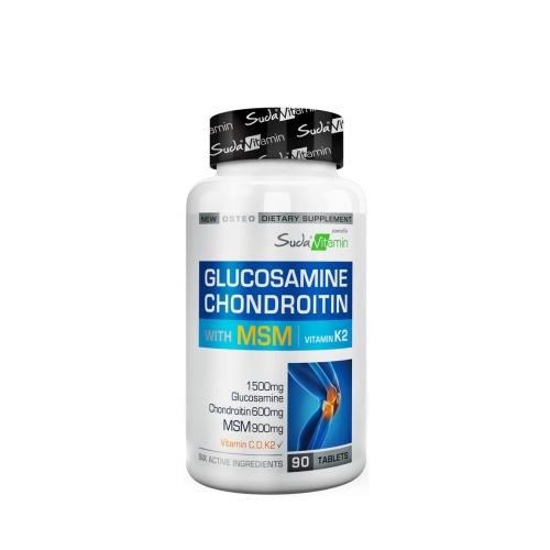 Suda Vitamins Glucosamine Chondroitin MSM 90 Tablet