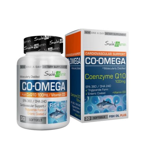 Suda Vitamins Suda Vitamin CO-Omega Coenzyme Q10 30 Yumuşak Kapsül