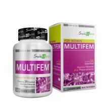 Suda Vitamins Multifem Women's Multivitamin 30 Bitkisel Kapsül