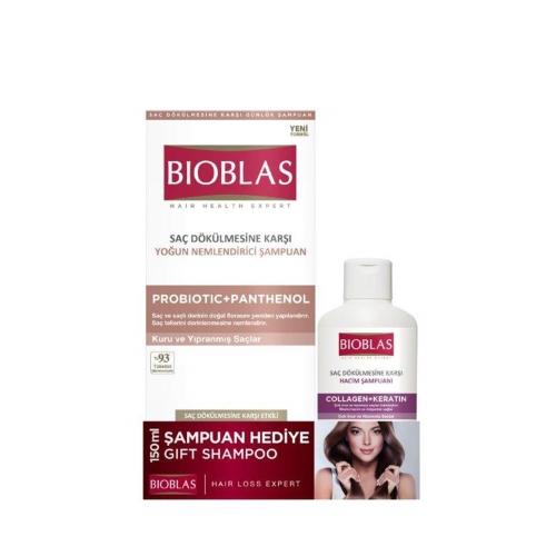 Bioblas Probiotic Şampuan 360 Ml + Collagen Şampuan 150 Ml