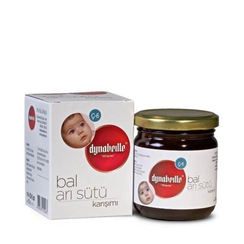 Dynabeille Arı Sütü+Bal Karışımı Çocuk Kavanoz 230 Gr. (Ç-6)