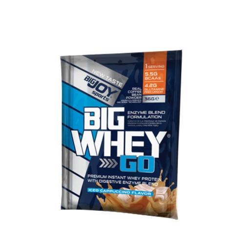 Bigjoy Big Whey Go Iced Cappuccino 36 Gr