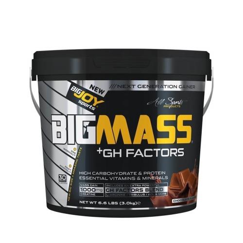Big Joy Big Mass Gainer + Gh Factors Çikolata 3000 Gr