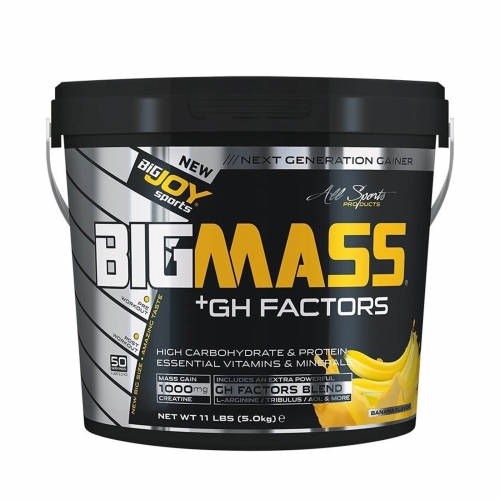 Big Joy Big Mass Gainer + Gh Factors Muz 5000 Gr