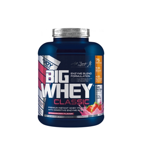 Big Joy Big Whey Protein Classic Çilek 2288 Gr