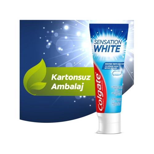 Colgate Sensation White Beyazlatıcı Diş Macunu 75 Ml
