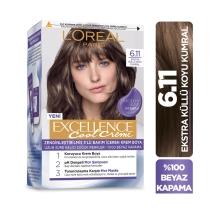 L'Oréal Paris Excellence Cool Creme 6-11 Ekstra Küllü Koyu Kumral
