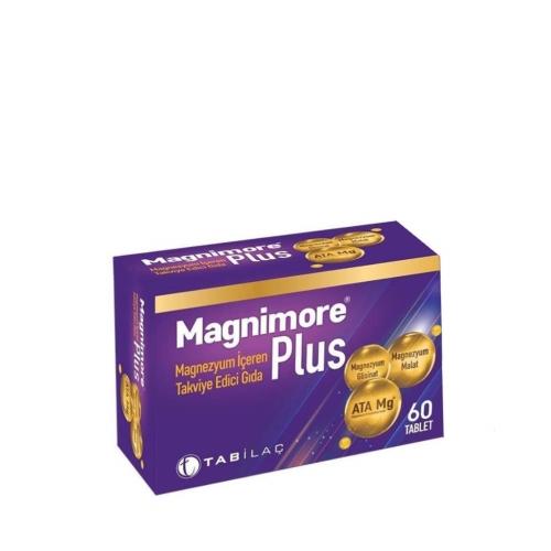 Magnimore Plus Magnezyum İçeren Takviye Edici Gıda 60 Kapsül