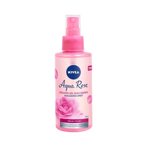 Nivea Aqua Rose Nemlendirici Yüz Spreyi 150 Ml