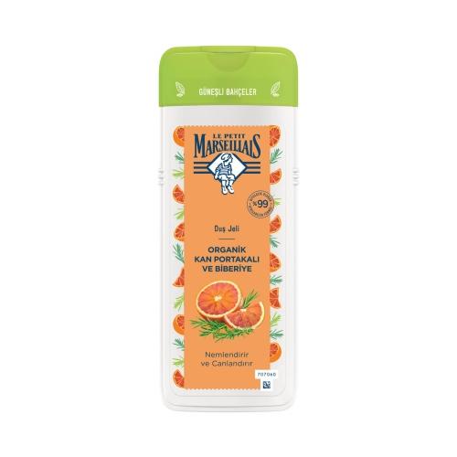 Le Petit Marseillais Duş Jeli Organik Kan Portakalı ve Biberiye 400 Ml