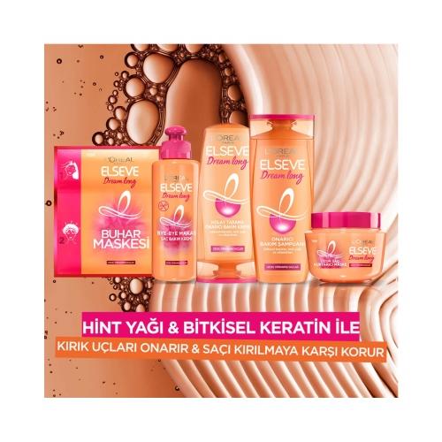 L'Oréal Paris Elseve Dream Long Onarıcı Bakım Şampuanı 450 Ml + Kolay Tarama Bakım Kremi 175 Ml