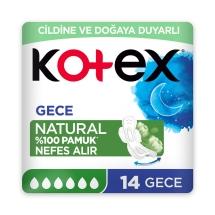 Kotex Natural Ultra Süper Ekonomik Paket Gece 16'lı