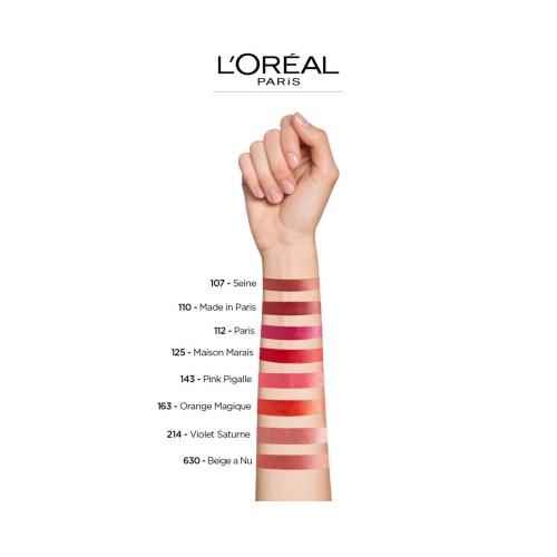 L'Oréal Paris Color Riche Satin Lipstick 163 Orange Magique