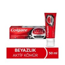 Colgate Optic White Aktif Kömür Beyazlatıcı Diş Macunu 50 Ml