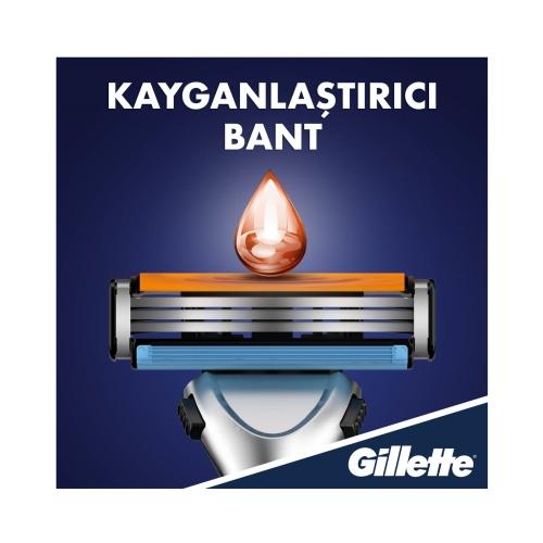 Gillette Sensor3 Tıraş Makinesi + Yedek Tıraş Bıçak 6'lı
