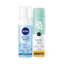 Nivea Canlandırıcı Yüz Yıkama Köpüğü Normal Ciltler 150 Ml + 8X4 Deodorant Fresh Lime 150 Ml