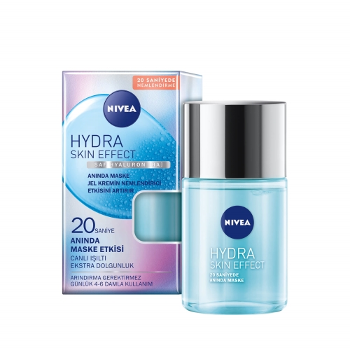 Nivea Hydra Skin Effect 20 Saniyede Anında Maske Etkisi Bakım Kremi 100 Ml