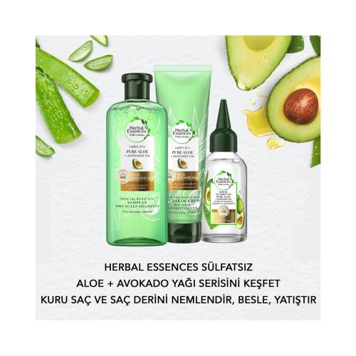 Herbal Essences Sülfatsız  Aloe Gücü + Bamboo Sülfatsız Saç Bakım Kremi 275 Ml