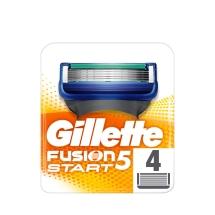 Gillette Fusion 5 Start Yedek Bıçak 4'lü