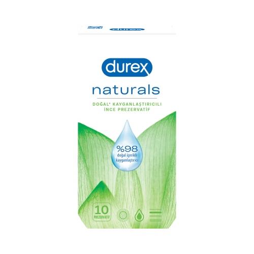 Durex Naturals 10'lu