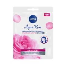 Nivea Aqua Rose Nemlendirici 10 Dakika Kağıt Maske 1 Adet