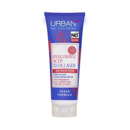 Urban Care Hyaluronic Acid&Collagen Sülfatsız Saç Bakım Kremi 250 Ml