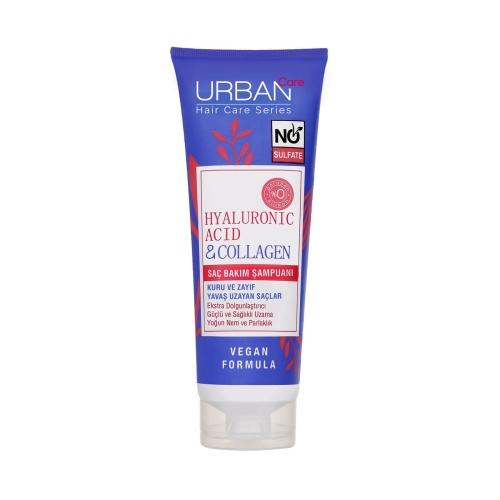 Urban Care Hyaluronic Acid&Collagen Sülfatsız Saç Bakım Şampuanı 250 Ml