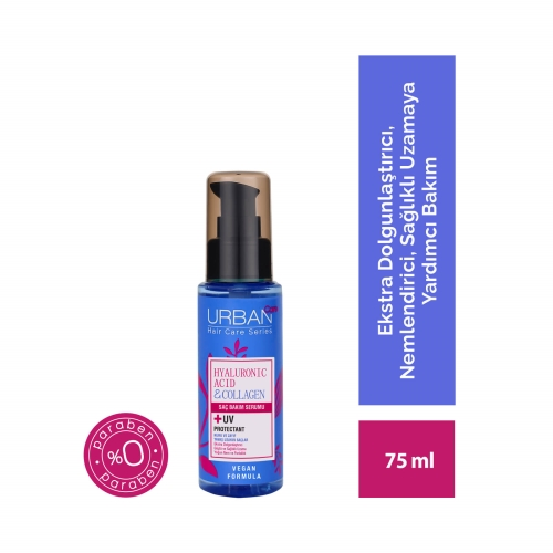 Urban Care Hyaluronic Acid&Collagen Sülfatsız Serum 75 Ml