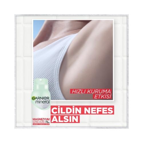 Garnier Mineral Deodorant Magnezyum Ultra Kuru 150 Ml