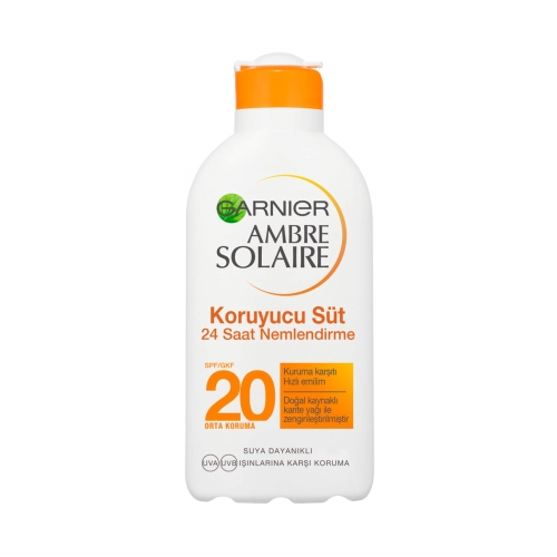 Garnier Ambre Solaire Güneş Sütü Spf 20 200 Ml