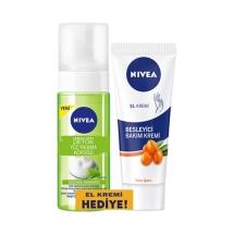 Nivea Urban Skin Detox Yüz Yıkama Köpüğü 150 Ml + Besleyici El Bakım Kremi 75 Ml