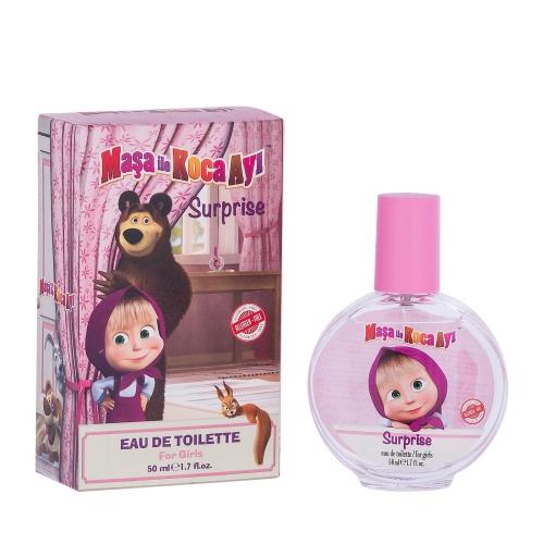 Maşa ile Koca Ayı Surprise Kız Çocuk Parfüm 50 Ml