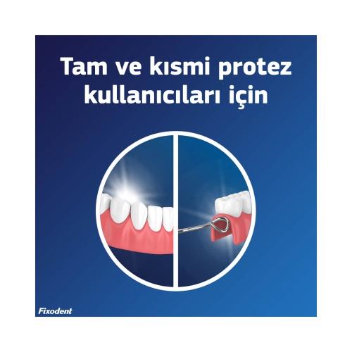 Fixodent l Diş Protezi Yapıştırıcı Krem Güçlü Tutuş 40 Gr