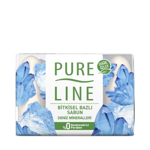Pure Line Deniz Mineralleri Bitkisel Bazlı Sabun 4x70 Gr