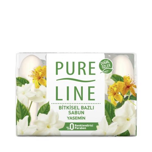 Pure Line Yasemin Bitkisel Bazlı Sabun 4x70 Gr