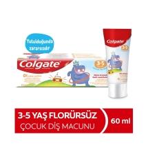 Colgate Florürsüz Nane Aromalı 3-5 Yaş Çocuk Diş Macunu 60 Ml