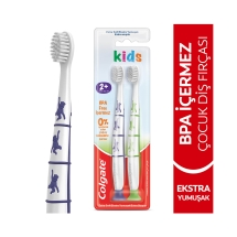 Colgate BPA İçermeyen Çocuk Diş Fırçası Ekstra Yumuşak 1+1