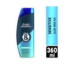 Head&Shoulders Duş Jeli ve Şampuan Sensitive 360 Ml