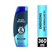 Head&Shoulders Duş Jeli ve Şampuan Energizing 360 Ml