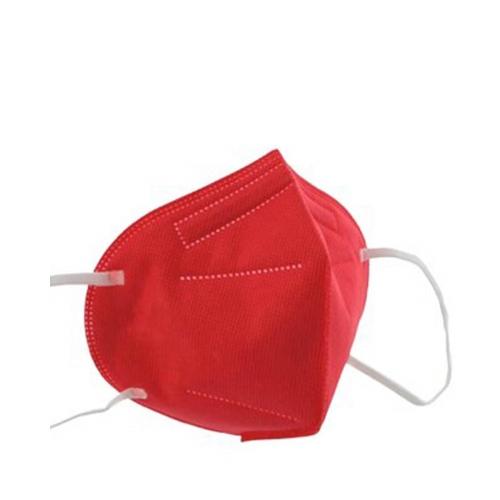 AFS N95 Ffp2 Tekli Maske Kırmızı