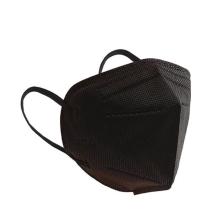 Kırmızı Medikal N95 Ffp2 Tekli Maske Siyah