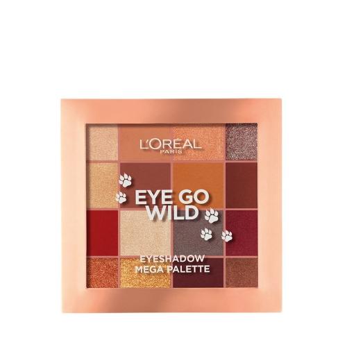 L'Oréal Paris Eye Go Wild Göz Farı Mega Paleti