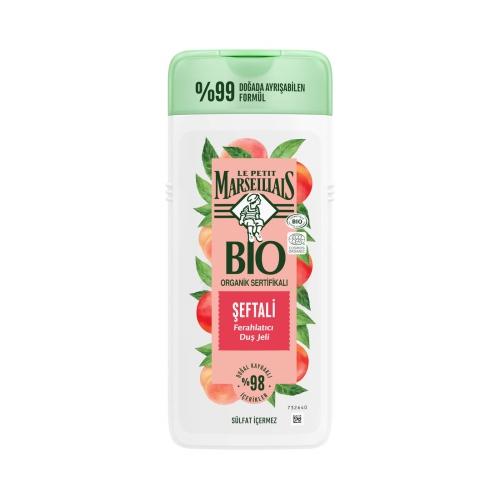 Le Petit Marseillais BIO Organik Sertifikalı Duş Jeli Şeftali 400 Ml