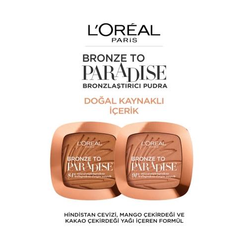 L'Oréal Paris Bronze To Paradise 02 Baby One More Tan