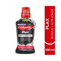 Colgate Plax Beyazlık Aktif Kömür Beyazlatıcı Ağız Bakım Suyu 500 Ml