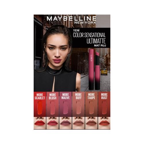 Maybelline New York Color Sensational Ultimatte Ruj 499 More Blush
