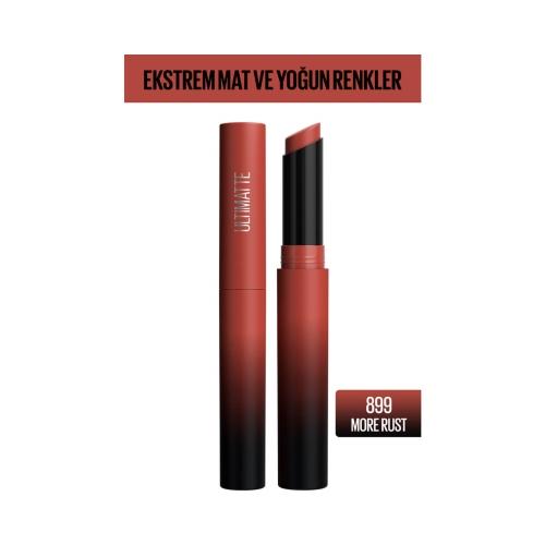 Maybelline New York Color Sensational Ultimatte Ruj 899 More Rust