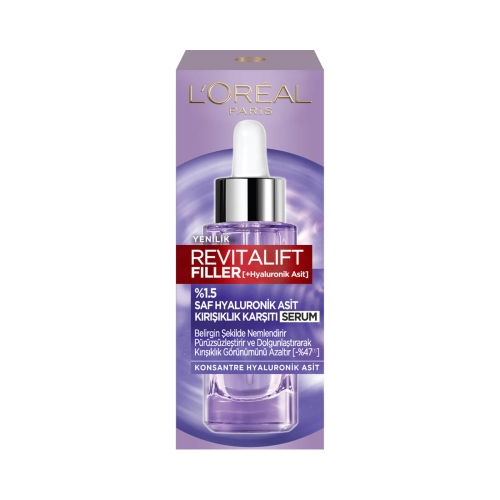 L'Oréal Paris Revitalift Filler %1.5 Saf Hyaluronik Asit Kırışıklık Karşıtı Serum- 30 Ml