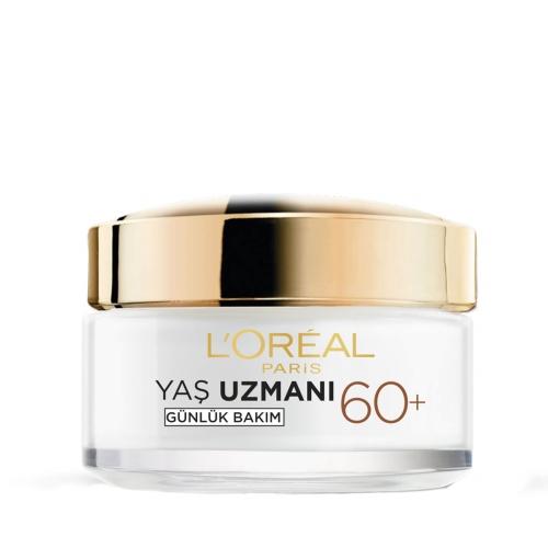 L'Oréal Paris Yaş Uzmanı 60 + Kırışıklık Karşıtı Sıkılaştırıcı Krem 50 Ml