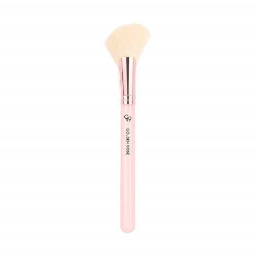 Golden Rose Angled Contour Brush (Nude)